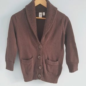 Wearing Your ❤ On Your Sleeve cowl neck cardigan
